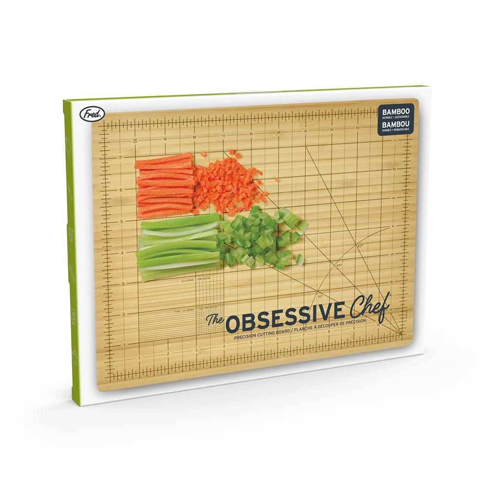 Obsessive Chef Cutting Board (in its packaging)