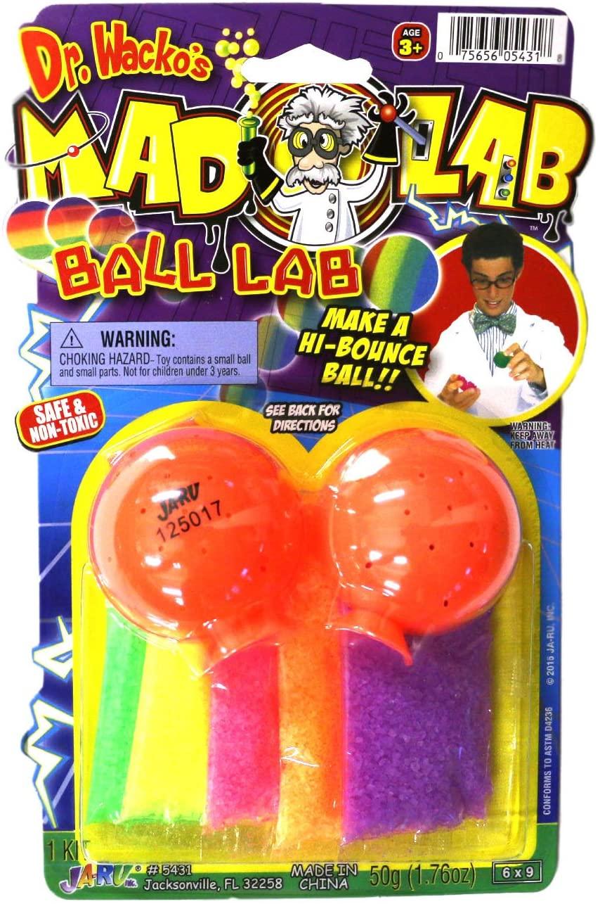Mad Lab Hi-Bounce Ball Kit