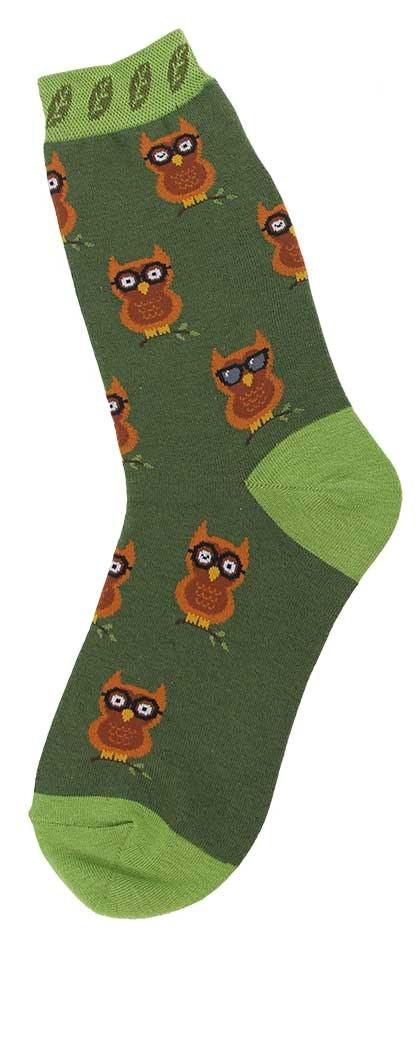 All Over Owls Socks