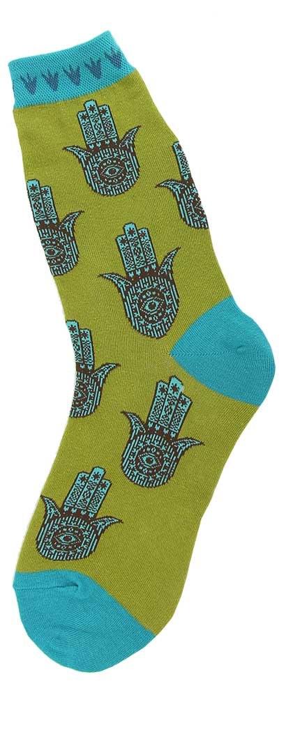 Hamsa Hand Socks