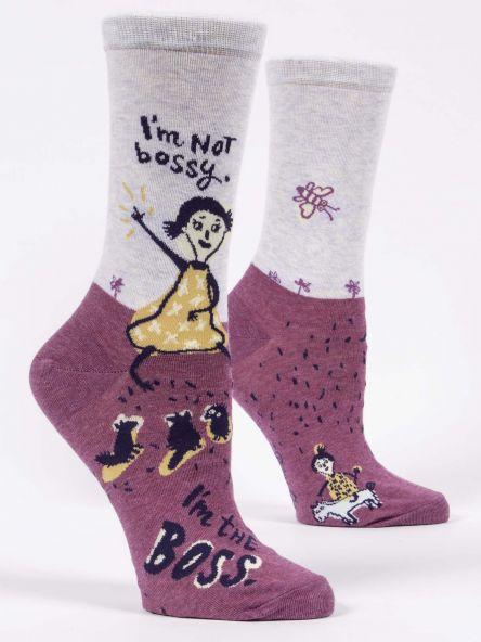 I'm Not Bossy I'm The Boss Socks