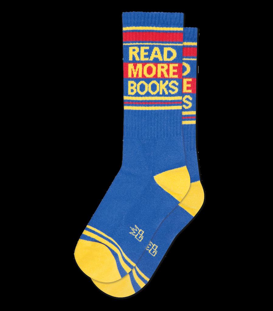 Read More Books unisex crew socks