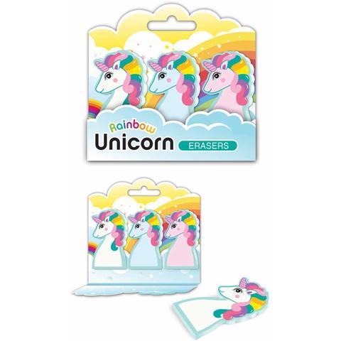 Unicorn Eraser set