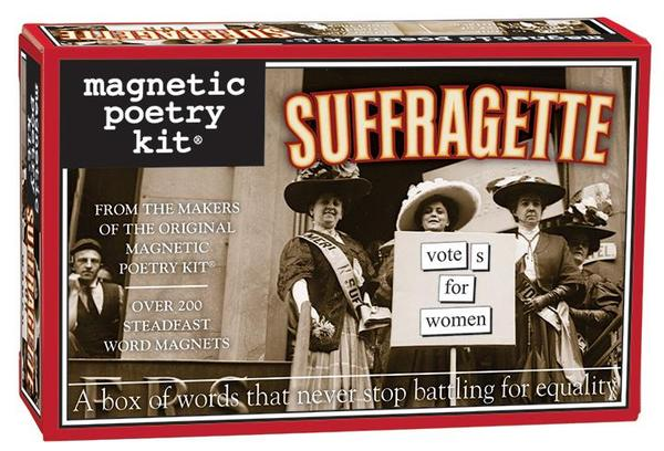 Suffragette Magnetic Poetry Kit