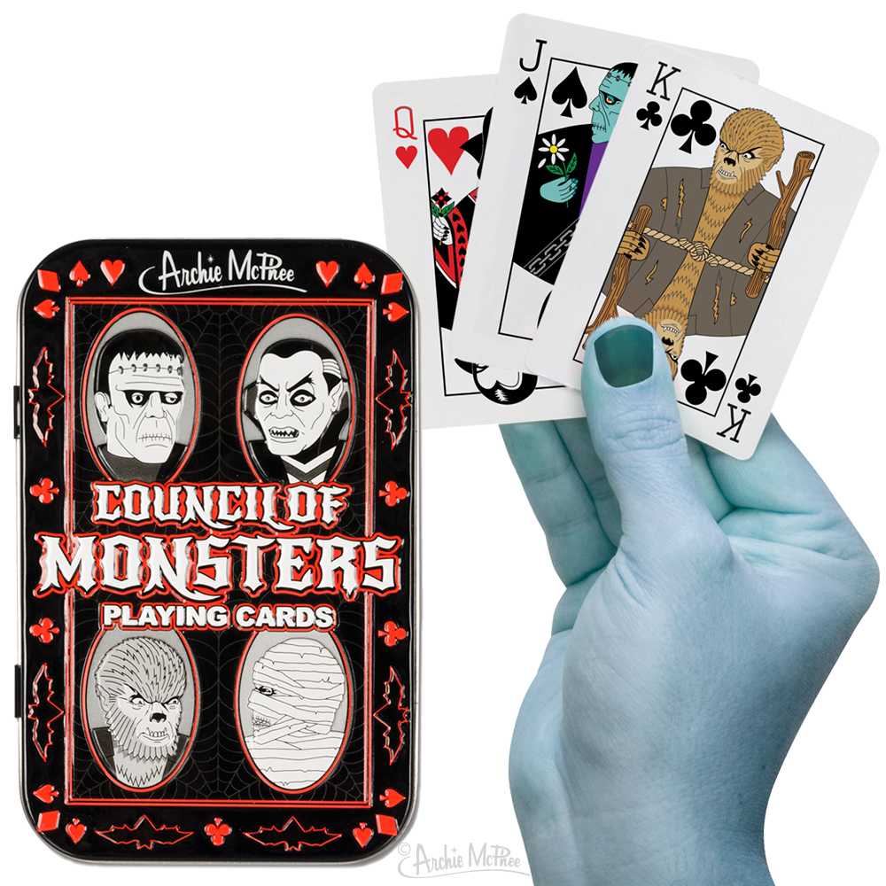 Council of Monsters Playing Cards