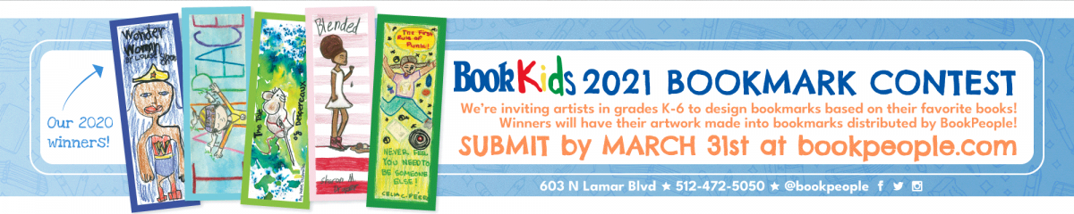 2021 Bookmark Contest Header Image