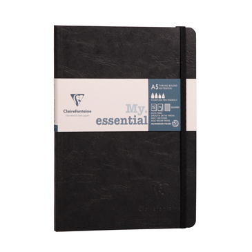 Black -- My Essential Dot Grid Notebook