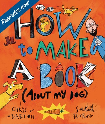 How to Make a Book (about My Dog) Cover