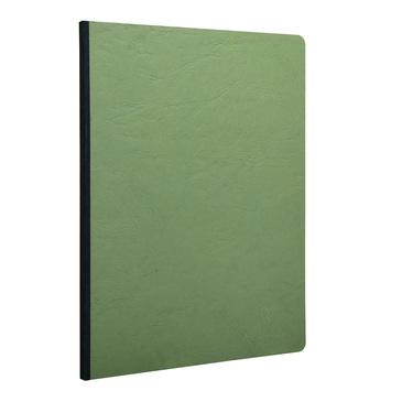 Green Clothbound Notebook Large