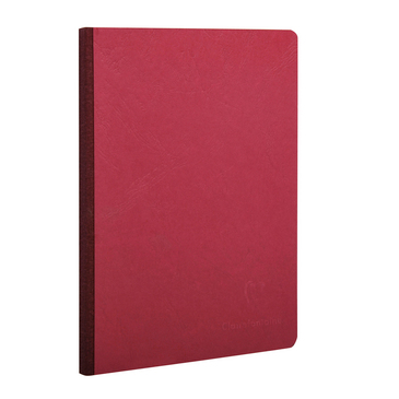Red Medium Clothbound Notebook