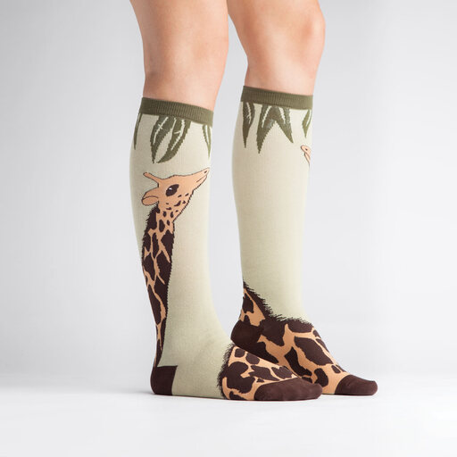 Giraffe Knee High Socks alternate view