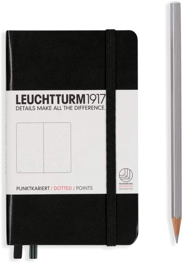 Black Leuchtturm Notebook