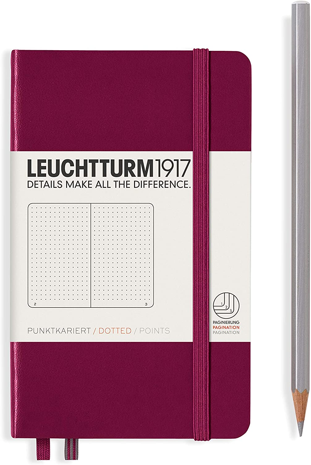 Port Red Leuchtturm Notebook