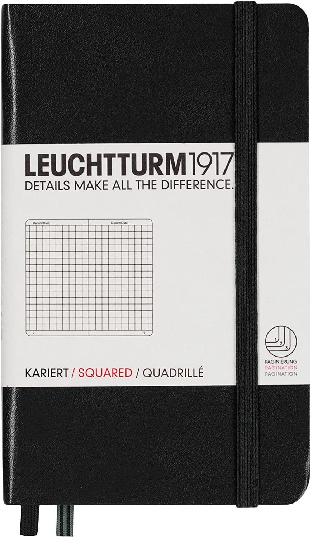 Black Squared Leuchtturm Pocket Notebook