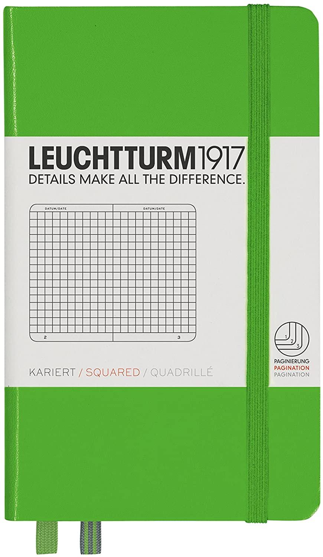 Fresh Green Squared Leuchtturm Pocket Notebook