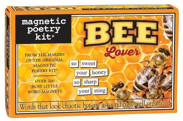 Bee Lover Magnetic Poetry Kit