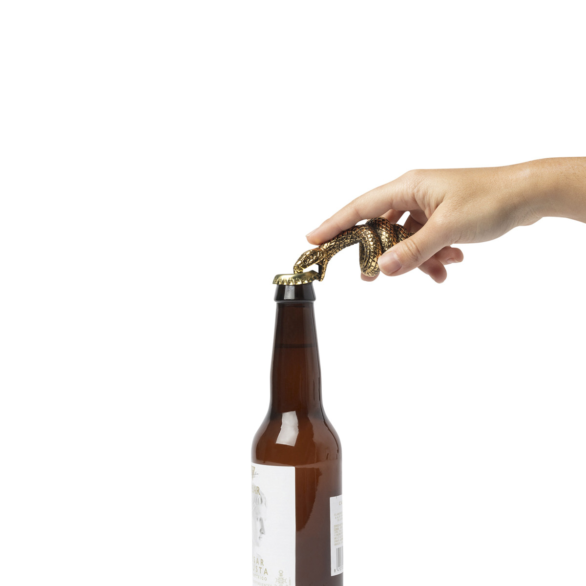 Mamba Bottle Opener in action