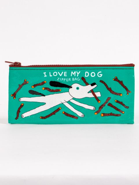 I Love My Dog Pencil Pouch