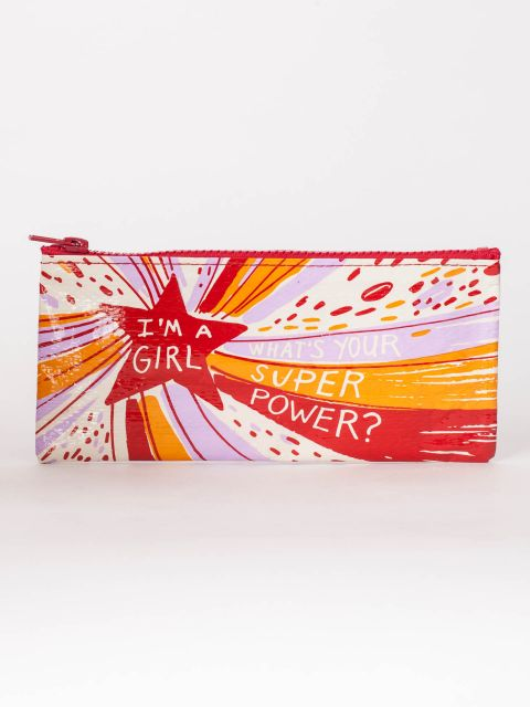 What's Your Super Power? Pencil Pouch