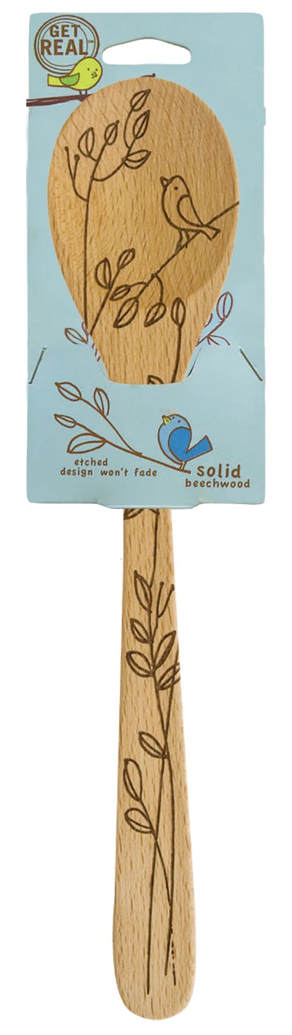 Bird Wooden Mixing Spoon