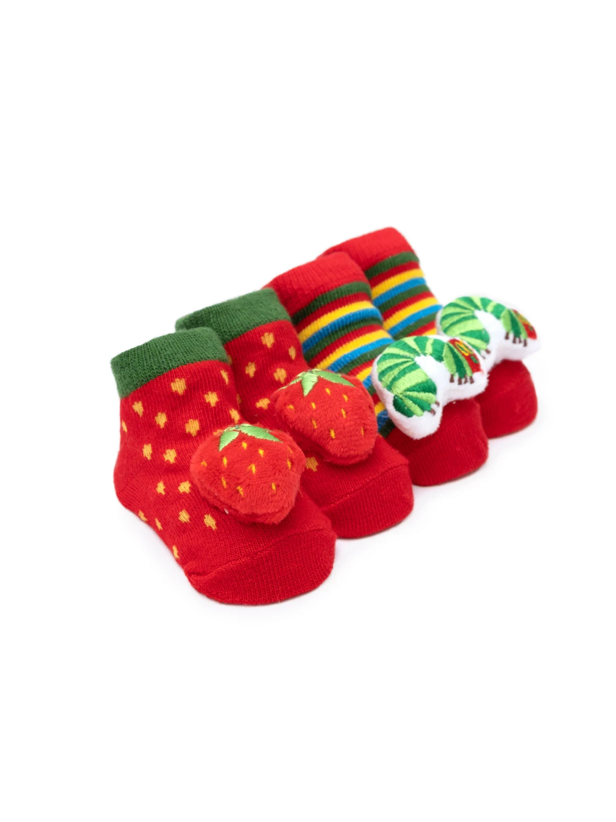 The Very Hungry Caterpillar Bootie Pairs