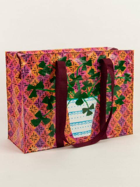 Pretty Plant Shoulder Tote Bag