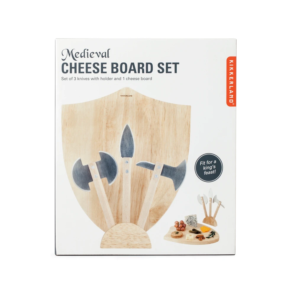 Medieval Cheese Board in package