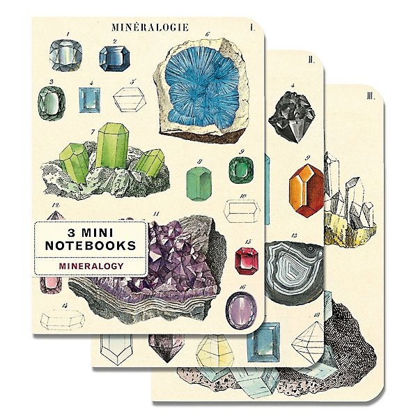 Mineralogy Mini Notebook Set