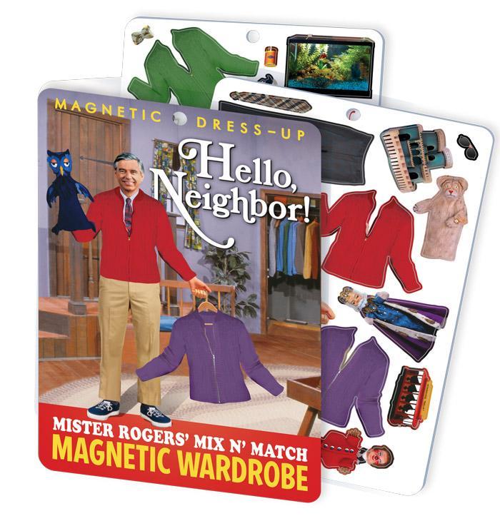 Hello Neighbor! Mr. Rogers Magnetic Wardrobe