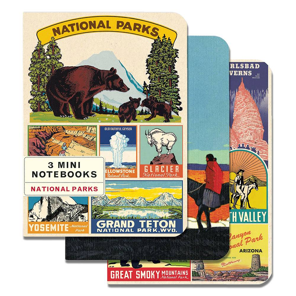 National Parks Mini Notebooks Set