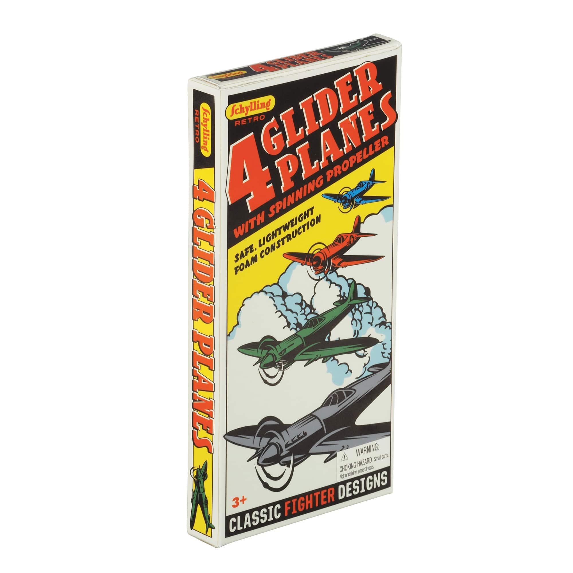 Retro Glider Plane Set