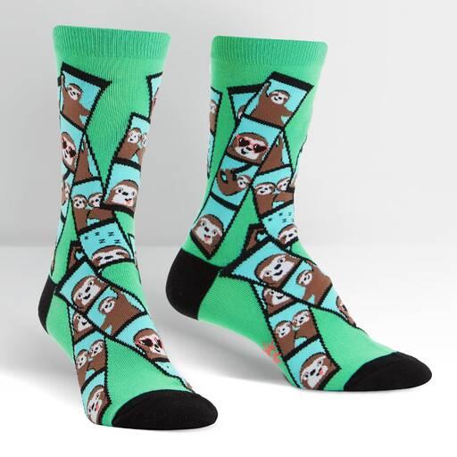 Oh Snap! Women's Crew Socks
