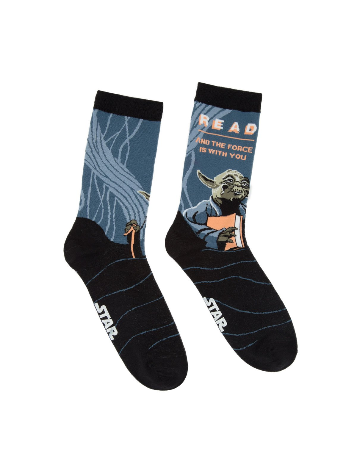 Read and the Force is With You Socks