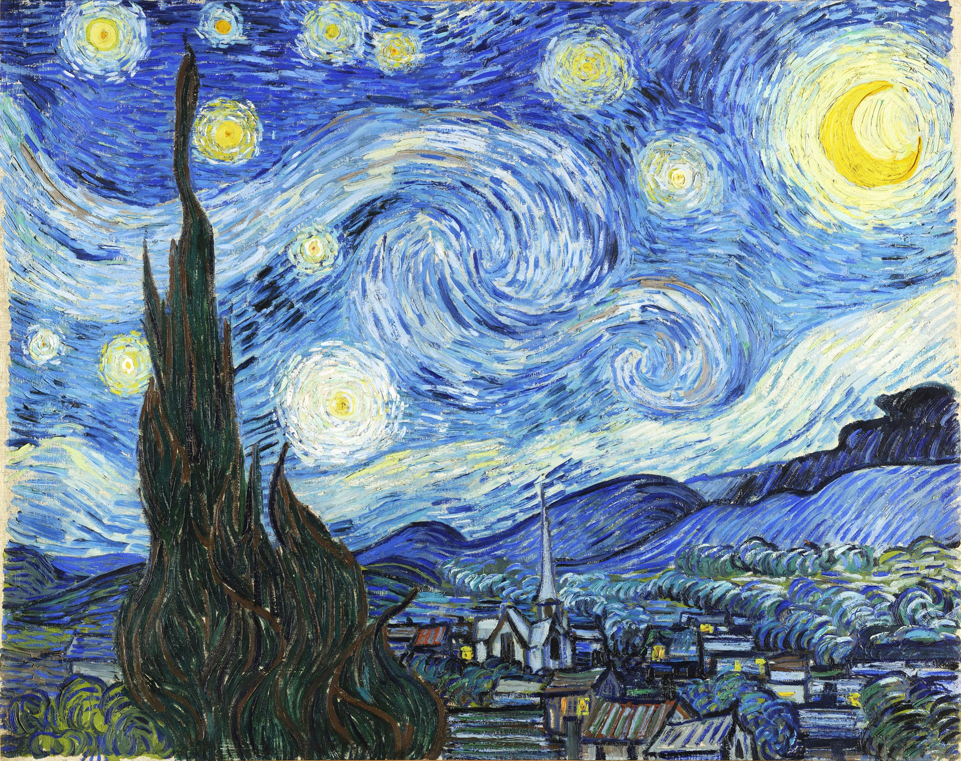 Starry Night Jigsaw Puzzle image