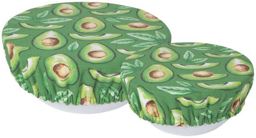 Avocado Reusable Bowl Cover Set
