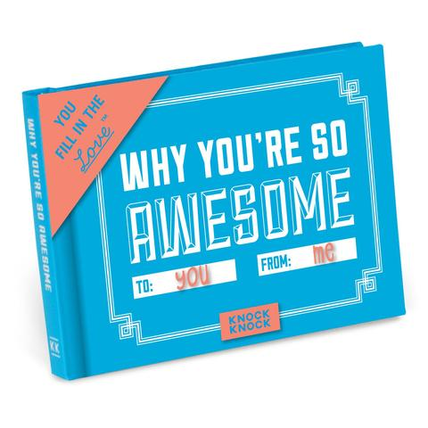 Why You're So Awesome Mini Journal