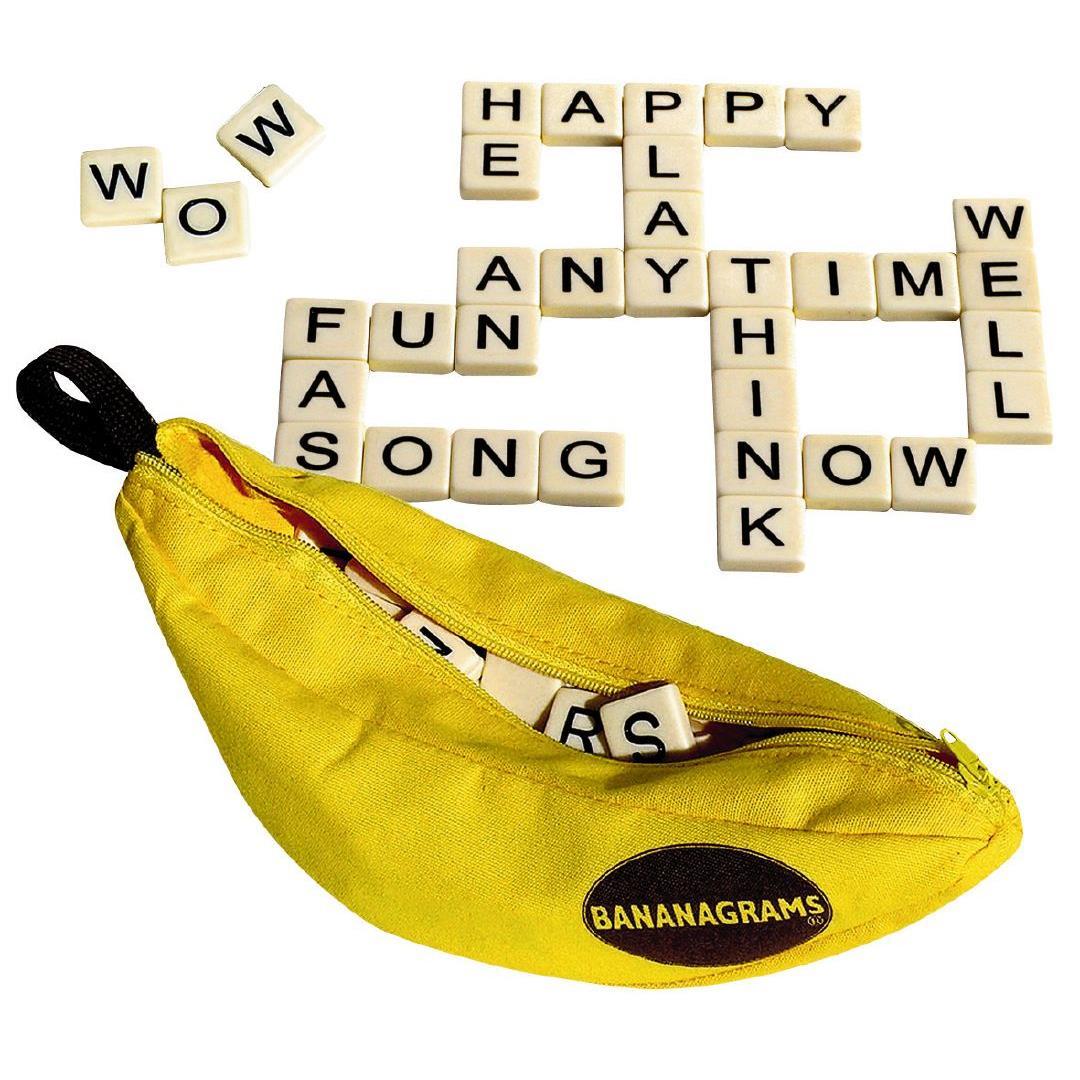 Bananagrams--scrabble meets dominoes