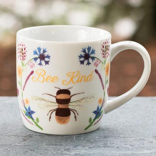 Bee Kind Floral Mug
