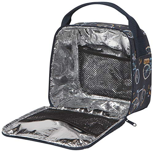 Interior of Sweet Ride Bicycle Lunch Bag