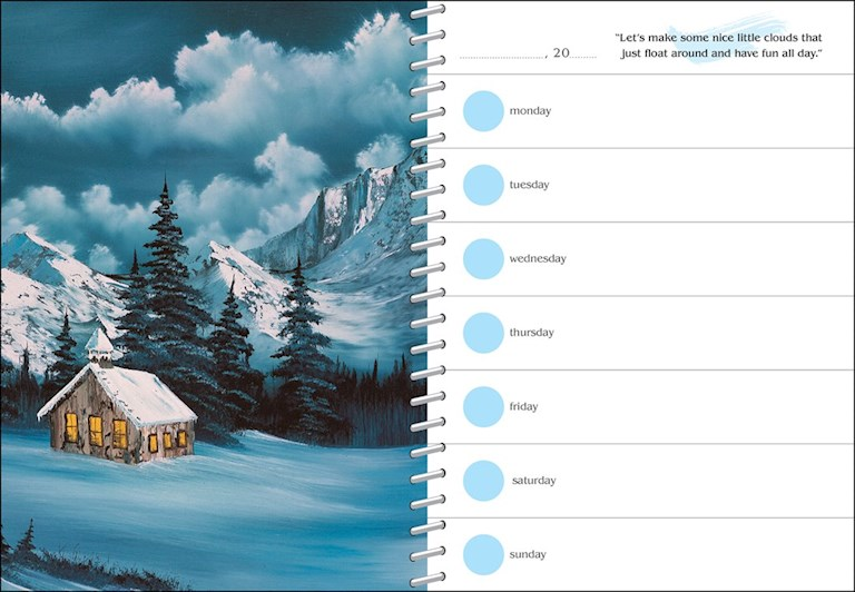 Page view of Bob Ross Agenda
