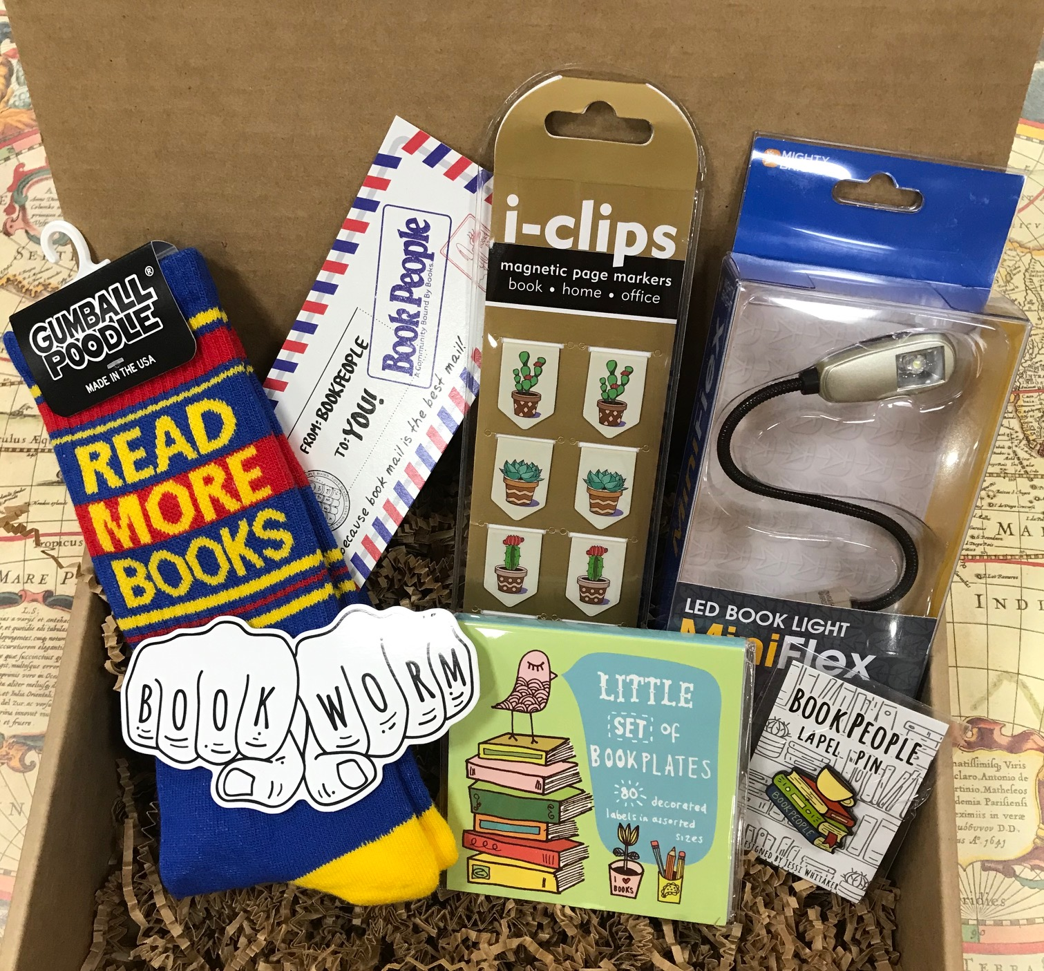 Example of a Book Worm Bundle