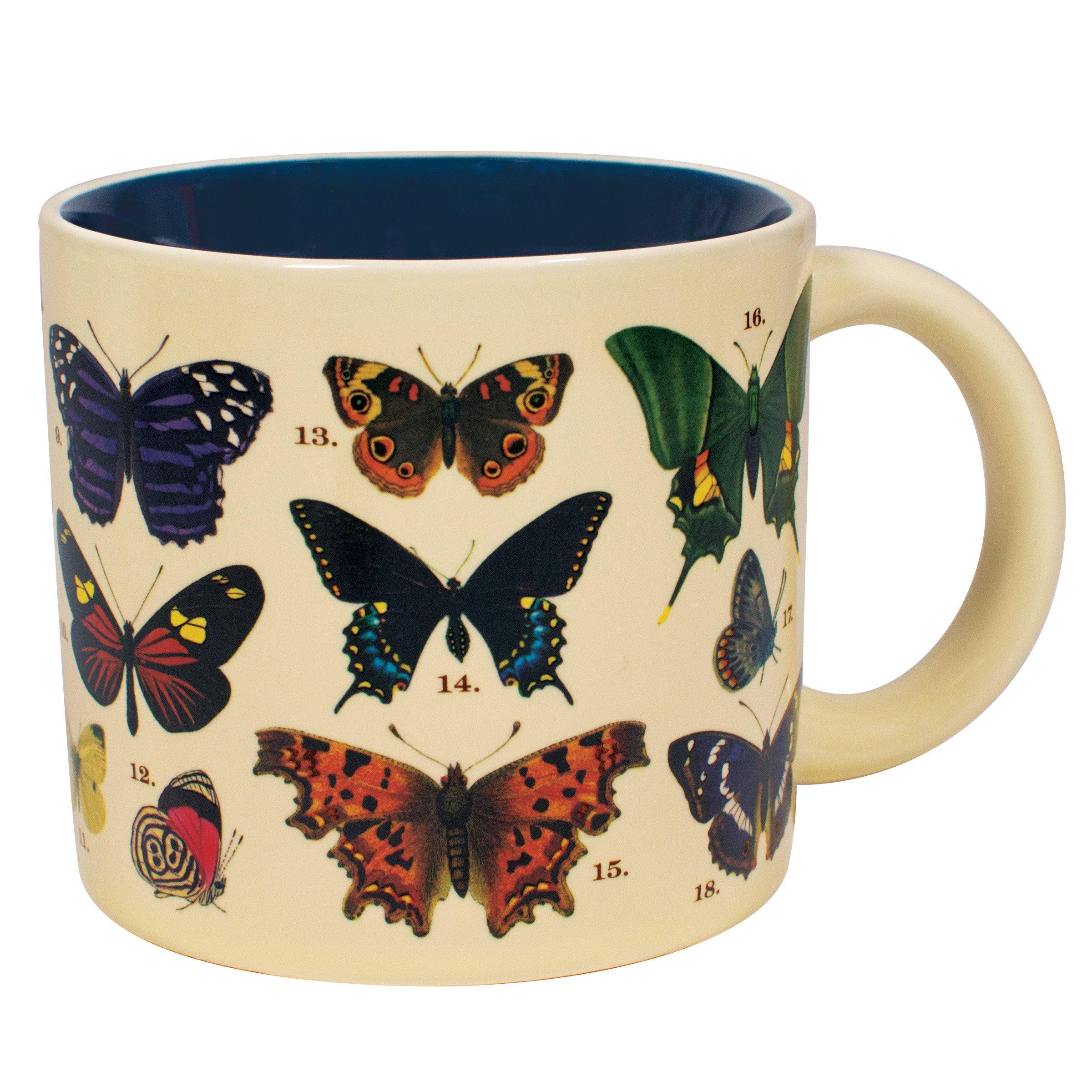 Butterflies Mug when hot