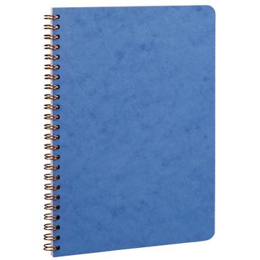 Blue spiral 6x8 notebook