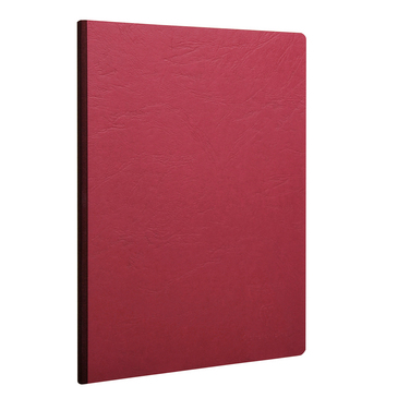 Red Clothbound Notebook Large