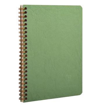 Green spiral 6x8 notebook