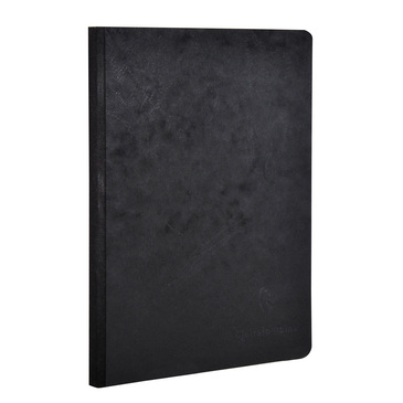 Black Medium Clothbound Notebook