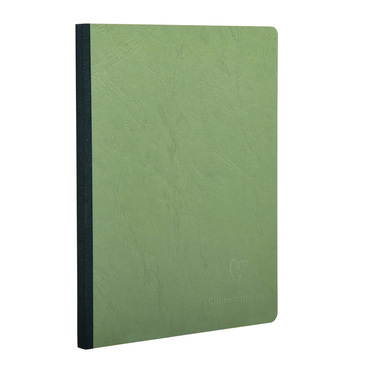 Green Medium Clothbound Notebook