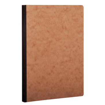 Tan Medium Clothbound Notebook