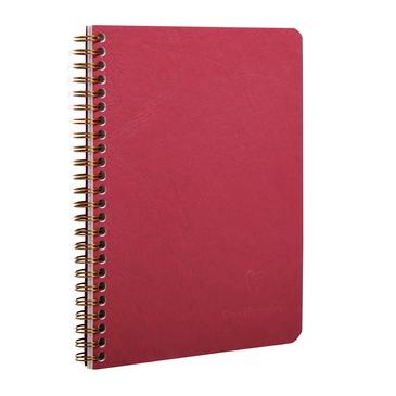 Red spiral 6x8 notebook