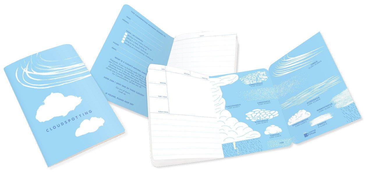 Cloudspotting Pocket Notebook interior